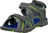 Merrell - Panther Sandal Grey/Blue