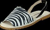 Amust - Mallorca sandal Zebra