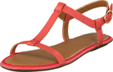Clarks - Risi Hop Coral Leather