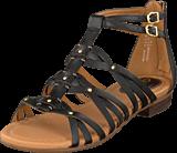 Clarks - Viveca Rome Black Leather