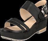 Clarks - Perez Glitter Black Leather