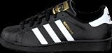 adidas Originals - Superstar Foundation Jr Black/White