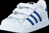 adidas Originals - Superstar Foundation Cf I Ftwr White/Eqt Blue S16