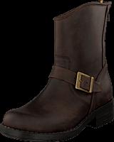 Johnny Bulls - Low Boot Zip Back Brown/Gold