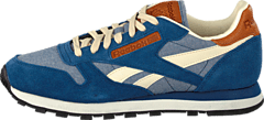 Reebok Classic - CL Leather CH Batik Blue/Paperwhite