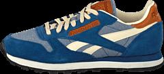 Reebok Classic - CL Leather CH Batik Blue/Paperwhite