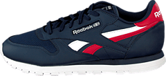Reebok Classic - CL LTHR SC SPLIT Collegiate Navy/Excellent Red