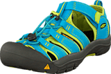 Keen - Newport H2 Youth Hawaiian Blue/Green Glow