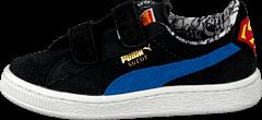 Puma - Suede Superman V Kids Blk/Blue