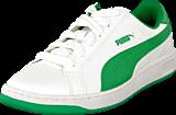 Puma - Puma Smash L Jr White-Fern Green