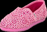 Toms - Classics Kids Pink Crochet