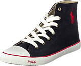 Ralph Lauren Junior - Carson Mid Navy/Red