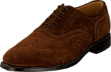 Loake - 202 Dark Brown Suede