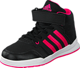 adidas Sport Performance - Jan Bs 2 Mid C Core Black/Shock Pink/White