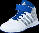 adidas Sport Performance - Jan Bs 2 Mid C Ftwr White/Clear Onix/Eqt Blue