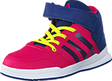 adidas Sport Performance - Jan Bs 2 Mid C Bold Pink/Unity Ink/Ftwr White