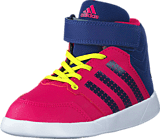 adidas Sport Performance - Jan Bs 2 Mid I Bold Pink/Unity Ink/Ftwr White