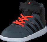 adidas Sport Performance - Jan Bs 2 Mid I Onix/Core Black/Solar Red