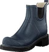 Ilse Jacobsen - Short Rubberboot High Heel Indigo