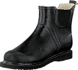 Ilse Jacobsen - Short Rubberboot Flat Sole Black
