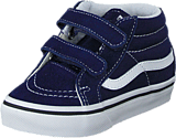 Vans - SK8-Mid Reissue V Patriot Blue/True White