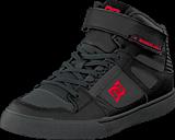 DC Shoes - Spartan High Se B Shoe Black/Athletic Red/Battleship