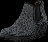 Fly London - Yat Black Leopard