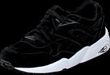 Puma - R698 Allover Suede Black