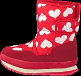 Rubber Duck - Classic SnowJoggers Nylon Print Heart Print/Fiery Red