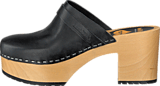Swedish Hasbeens - Louise Black/Nature Sole