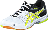 Asics - Gel Rocket 7 White/Flash Yellow/Black