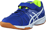 Asics - Pre Upcourt Ps Asics Blue/White/Safety Yellow
