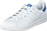 adidas Originals - Stan Smith J Ftwr White/Eqt Blue S16