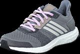 adidas Sport Performance - Ultra Boost St  W Grey/Chalk White/Purple Glow