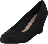 Bianco - Classic Wedge Pump Black