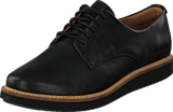 Clarks - Glick Darby Black Leather