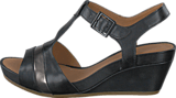 Clarks - Rusty Rebel Black Leather