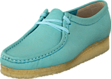 Clarks - Wallabee. Light Blue Nbk