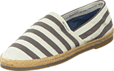 Gant - Gina Stripe G91 Cream/Silver Grey