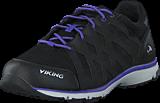 Viking - Skog W GTX Black/Purple