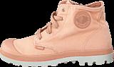 Palladium - Pampa Hi Zipper Kids 53196-671 Salmon Pink