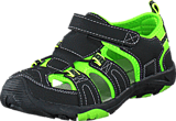 Gulliver - 438-5002 Black/Lime