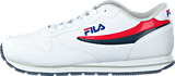 Fila - Orbit Low Bright White/High Risk Red