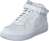 Nike - Force 1 Mid (Ps) White/White-White