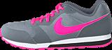 Nike - Nike Md Runner 2 (Gs) Cool Grey/Hyper Pink-Black