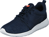 Nike - Wmns Nike Roshe One Moire Obsidian/Obsdn-White-Brght Mng