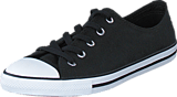 Converse - All Star Dainty-Ox Black/White/Black