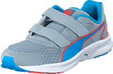 Puma - Descendant v3 V Kids Quarry-Atomic Blue