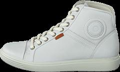 Ecco - Soft 7 Ladies Mid White