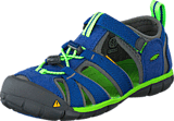 Keen - Seacamp Ii Cnx-Kids True Blue/Jasmine Green